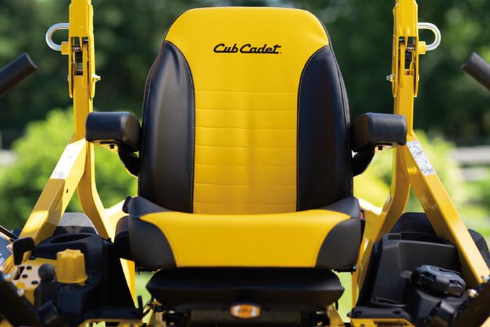 Ce siège réduit considérablement les vibrations même à des vitesses élevées.