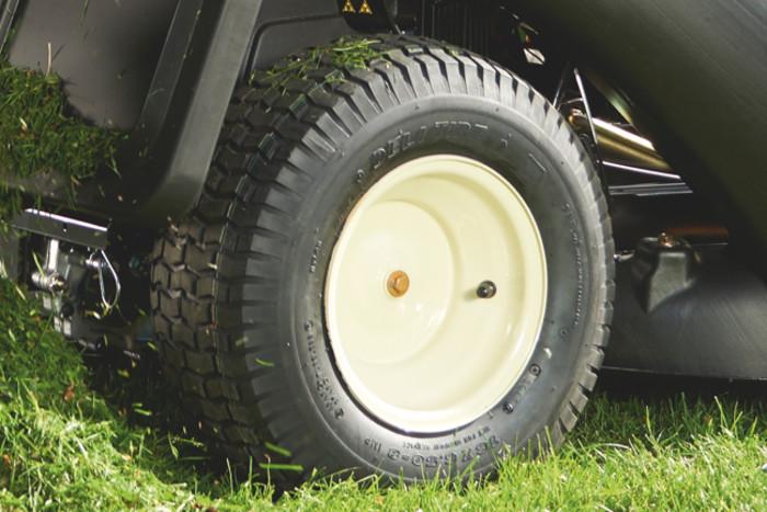 larges pneus