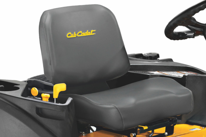 Siège confortable - Zero-Turn Cub Cadet