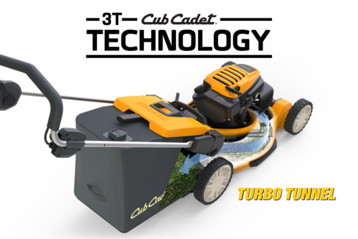 3T Technology  tondeuse Cub Cadet